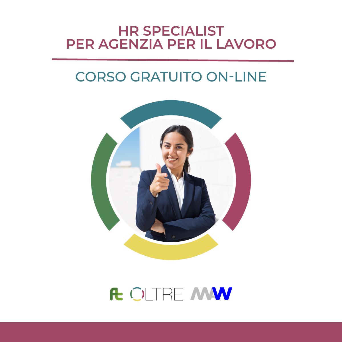 HR Specialist per agenzia per il lavoro