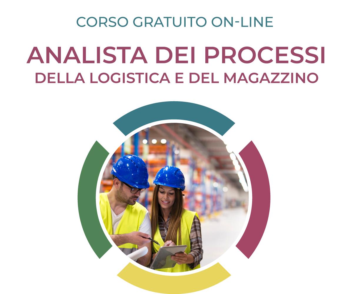 analista dei processi della logistica e del magazzino; corso logistica; formazione logistica; logistica;