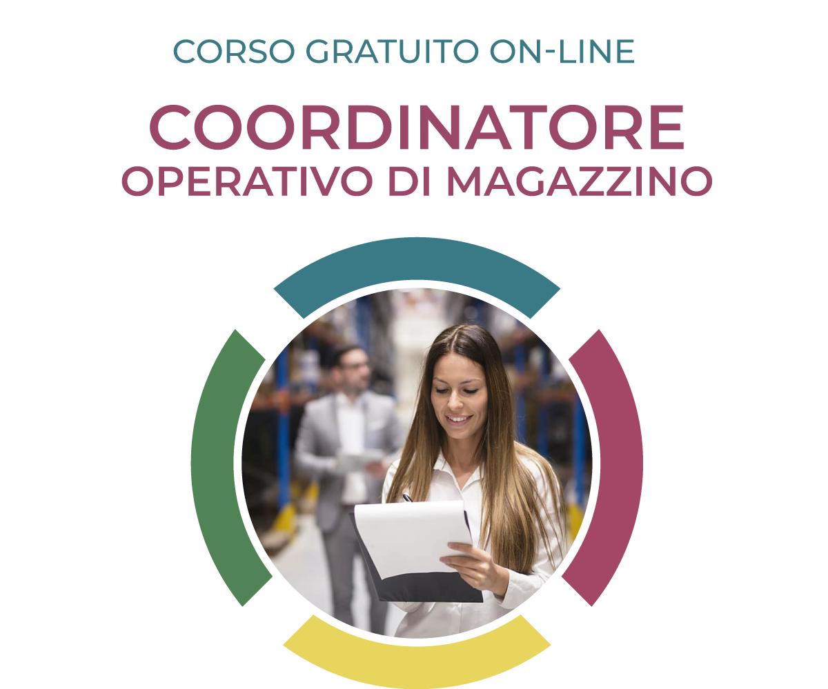 coordinatore operativo di magazzino; corso logistica; formazione logistica; logistica;