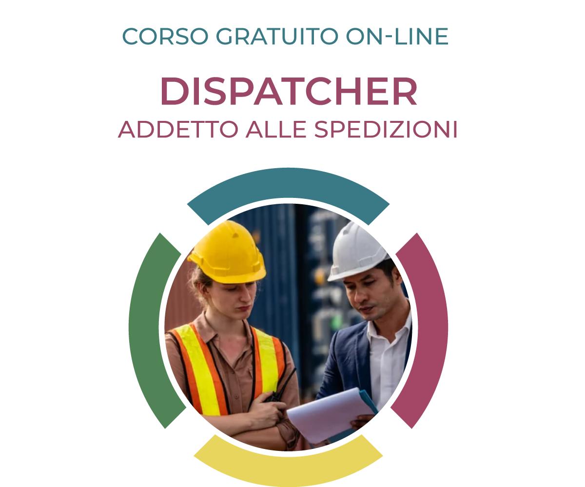 dispatcher addetto alle spedizioni; corso logistica; formazione logistica; logistica;