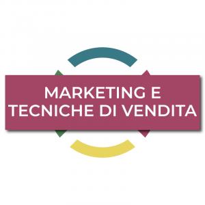 marketing e tecniche di vendita